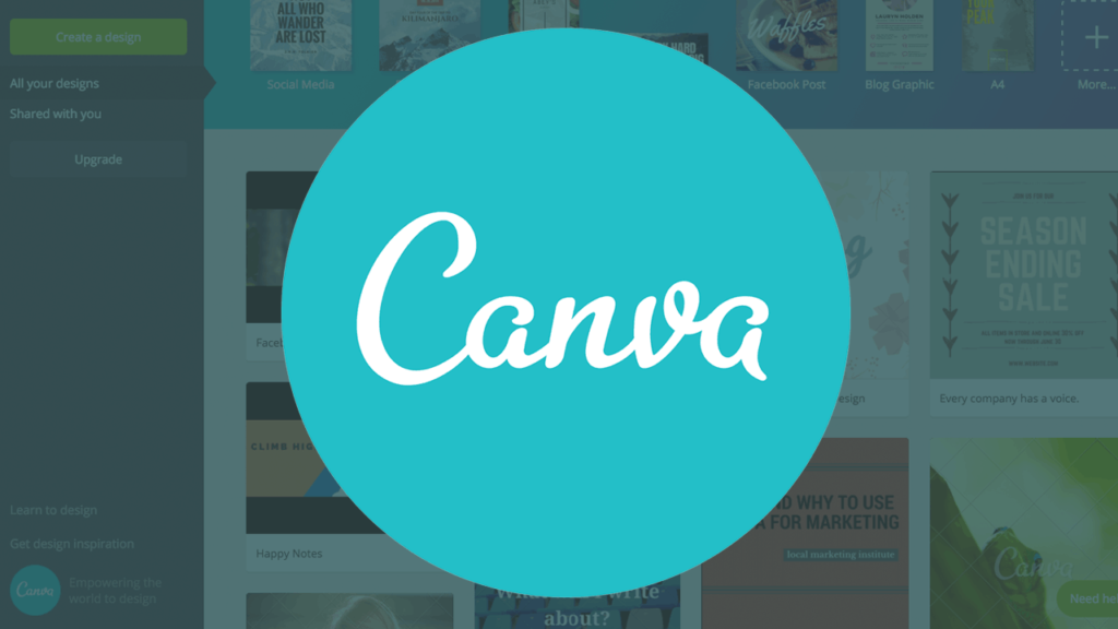 Aplikacija Canva