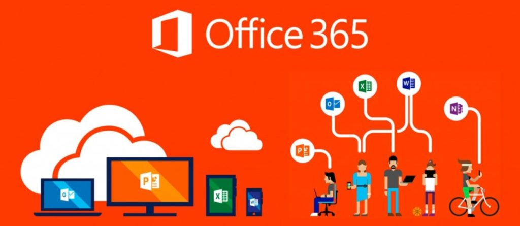 Ilustracija Office365