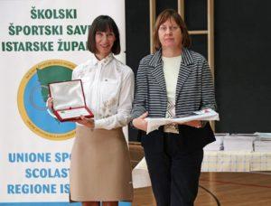 Đeni Blarežina, nagrađena mentorica