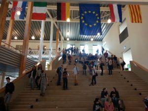 Škola u Assenu - hodnik